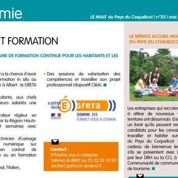 article mag coquelicot